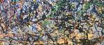 Jackson Pollock, Lucifer, 1947 (middle left detail)